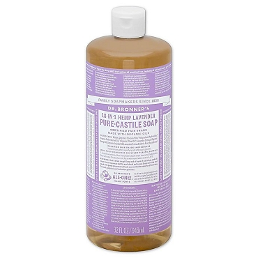 Dr. Bronner's Magic Soaps Lavender Pure-Castile Soap( 32oz. Bottle)