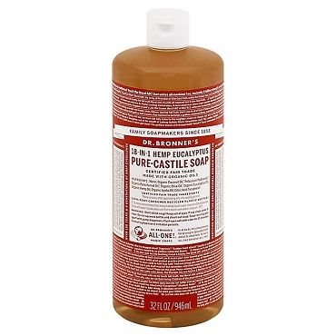 Dr. Bronner's Magic Soaps Eucalytus Pure-Castile Soap( 32oz. Bottle)